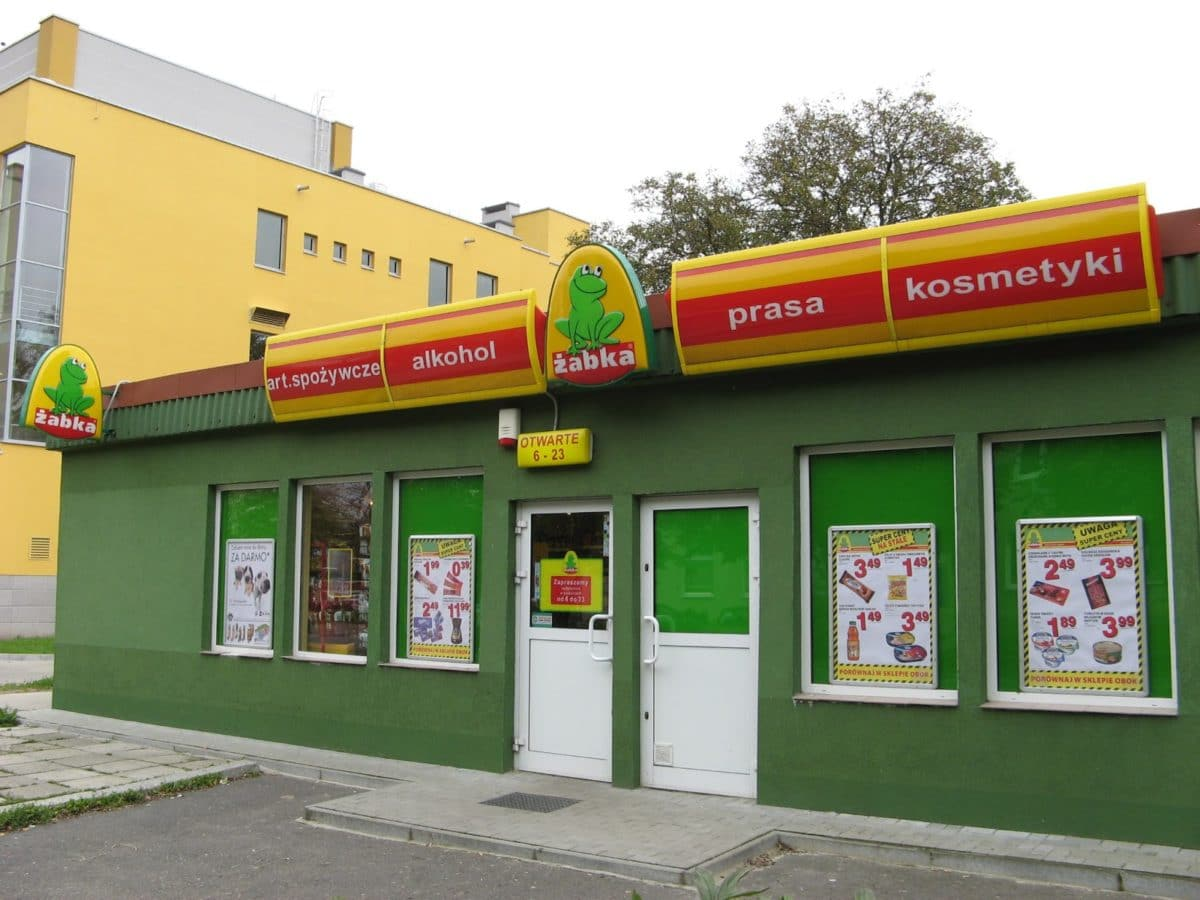 zabka shop in poland