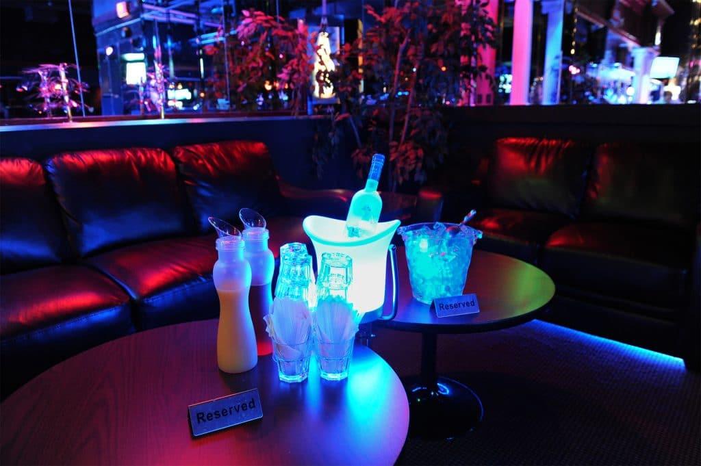 nightclub vip service