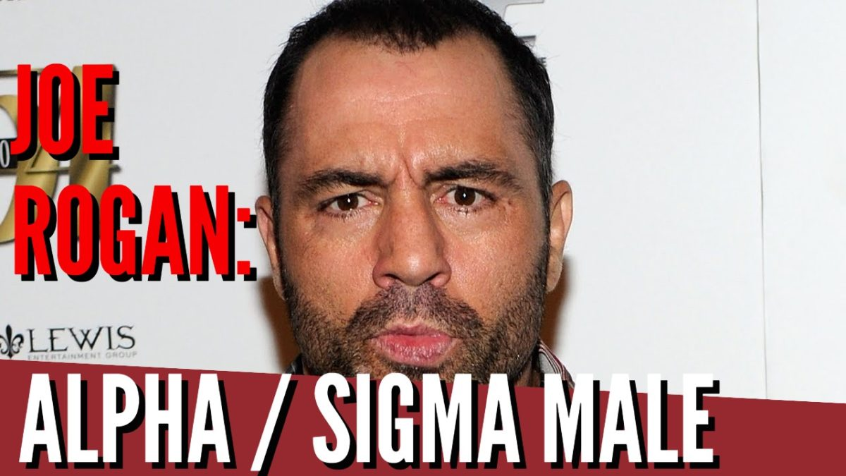 Joe Rogan : Strong Sigma + Alpha Male Character
