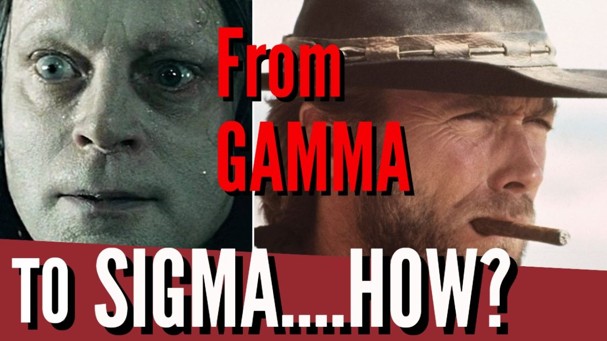 Gamma To Sigma : The Transformation