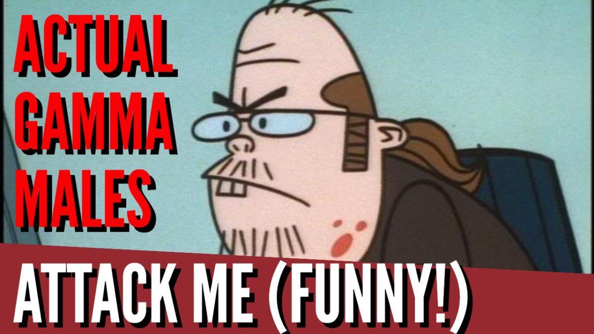 4 Gamma Males Attack Me – I respond!