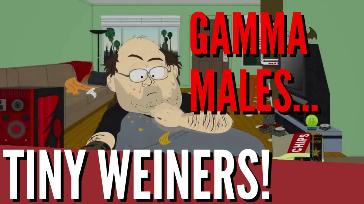 UNDENIABLE PROOF Gamma Males Have Tiny Wieners!