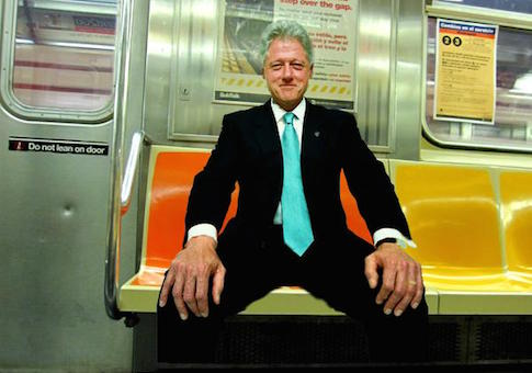 dick pic manspreading