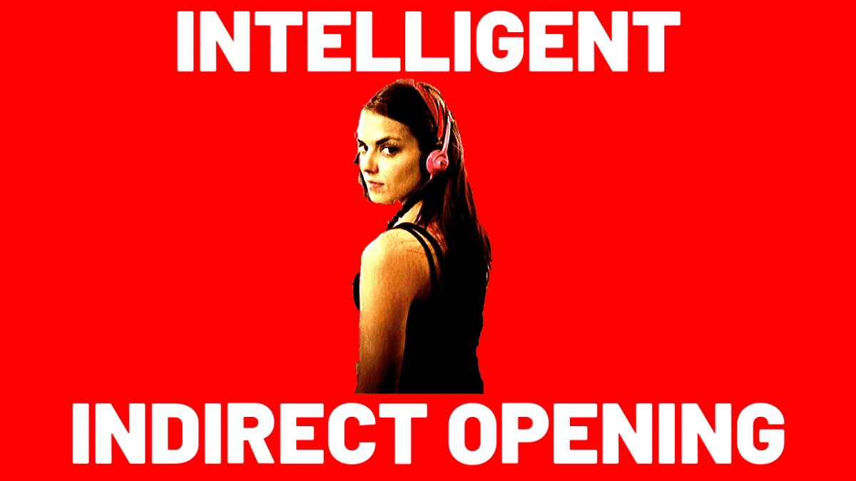 Socially Intelligent Indirect Opening