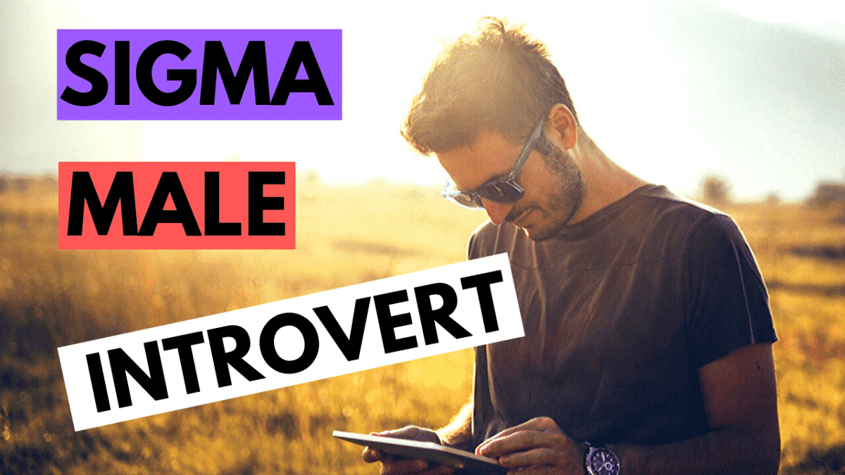 The Attractive Introvert (Sigma Male)
